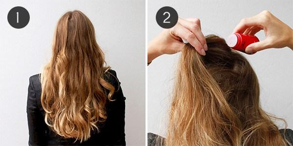 Polvere per capelli antidiradamento femminile