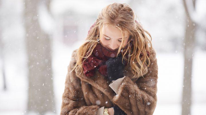 Come curare i capelli in inverno